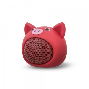 Głośnik Bluetooth Sweet Animal Pig Rose