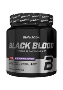 BioTech USA Black Blood CAF+ 300g Jagoda