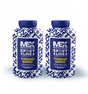2x MEX Thermo Shred 180 kaps.